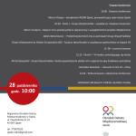 Ćwierć wieku V4 - program konferencji