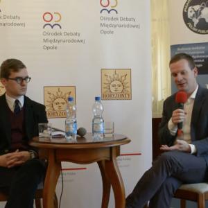 (Relacja video) Seminarium Opole między V4 a Trójmorzem z dr Michalem Vit z Instytutu Europeum z Pragi